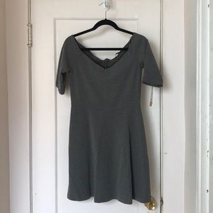 Trafaluc grey dress